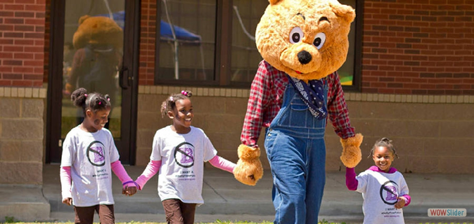 Crime Free Kids - UGO BEAR The Community BuilderTM - 'U' Go Make a Difference!